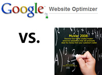 MuVar Vs. Google Website Optimizer