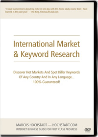 International Market & Keyword Research
