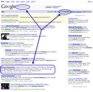 Top 4 on Google in 43 days - click to enlarge